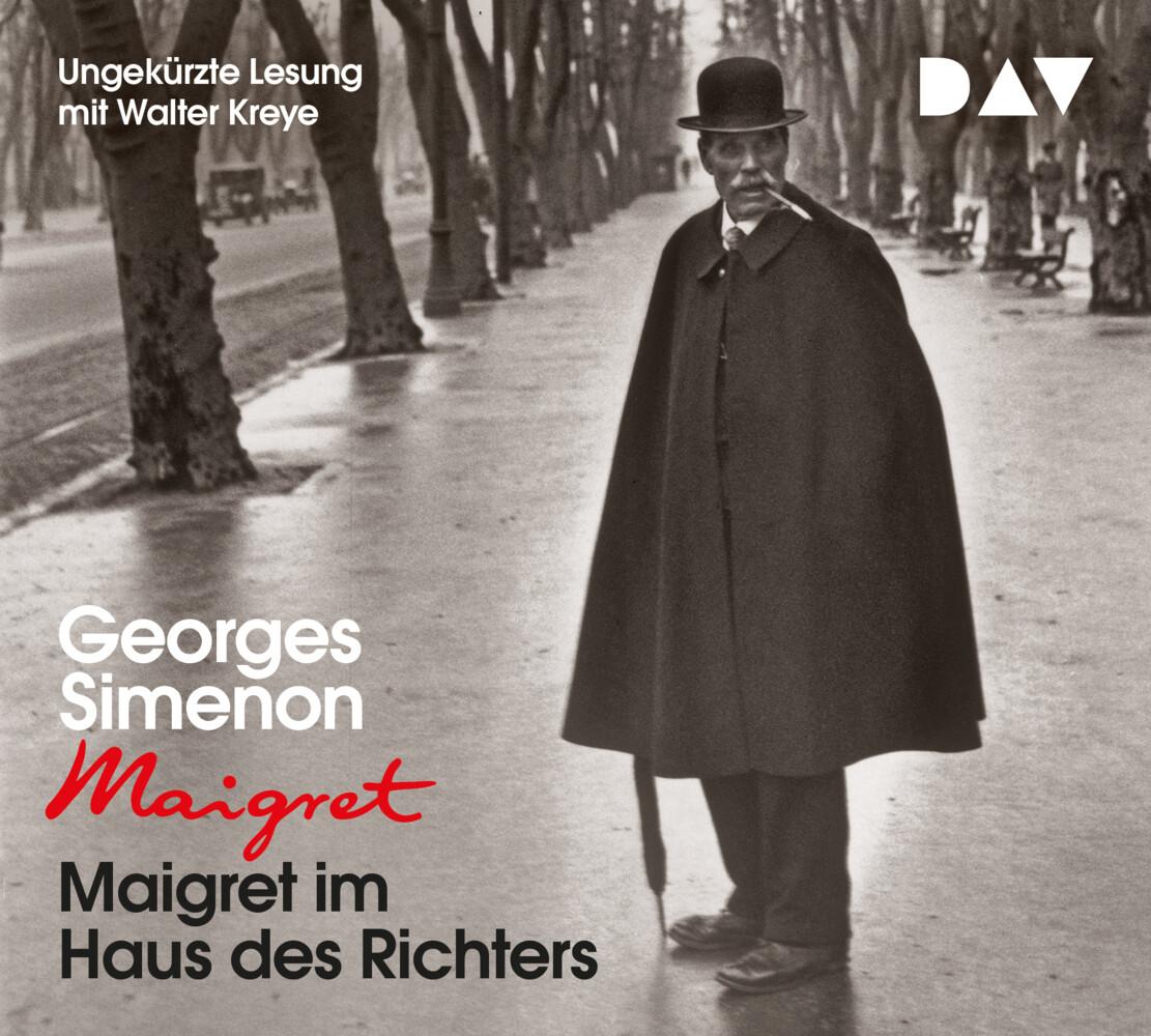 Maigret im Haus des Richters als Hörbuch CD
