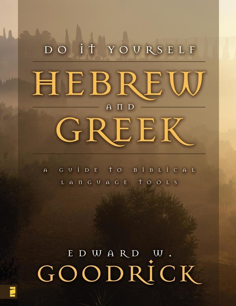 Do It Yourself Hebrew and Greek als Taschenbuch