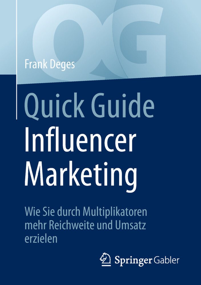 Quick Guide Influencer Marketing als Buch