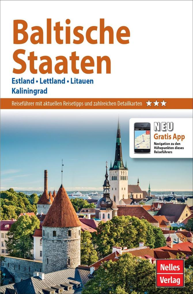 Nelles Guide Reiseführer Baltische Staaten als Buch (kartoniert)