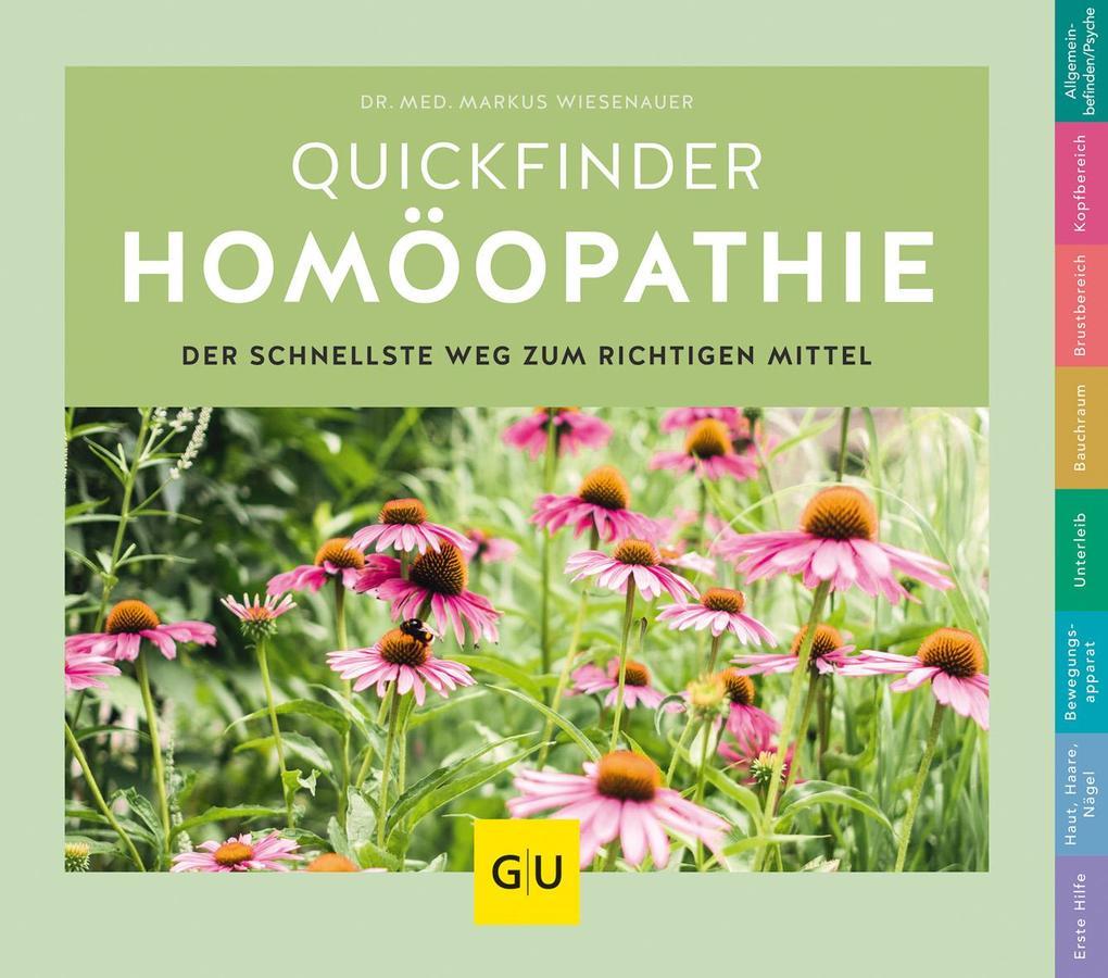 Quickfinder Homöopathie als Buch (kartoniert)