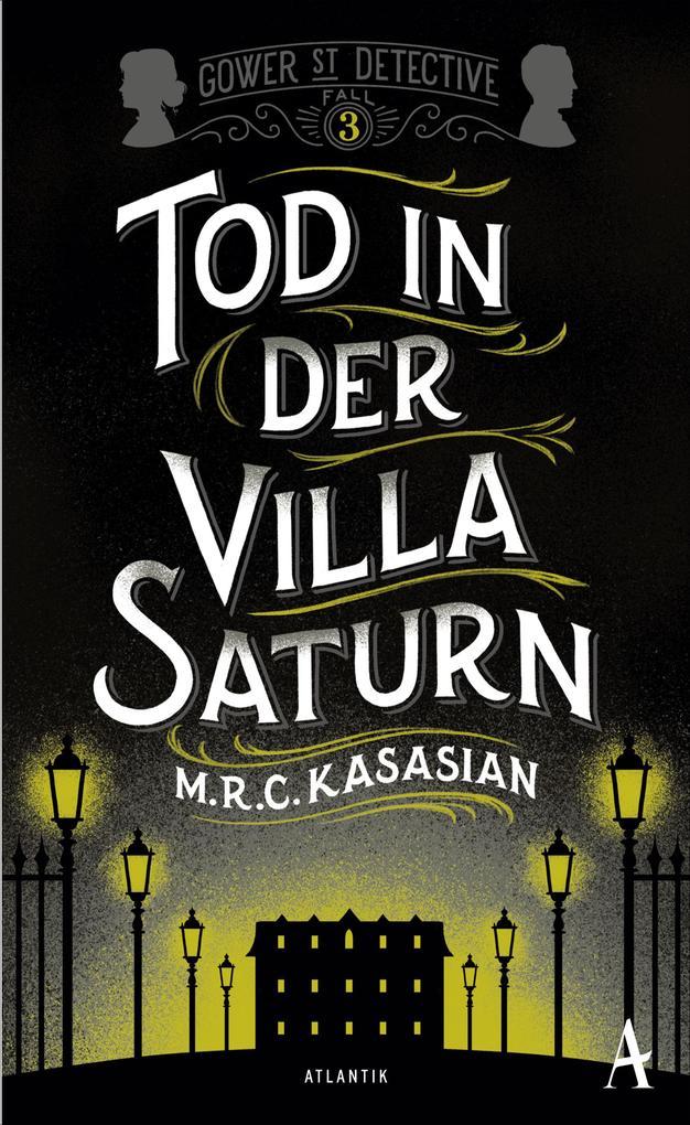 Tod in der Villa Saturn als Buch (gebunden)