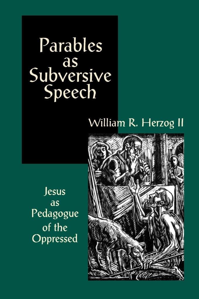 Parables As Subversive Speech als Taschenbuch
