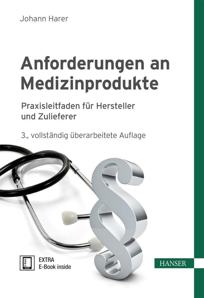 Anforderungen an Medizinprodukte als eBook epub