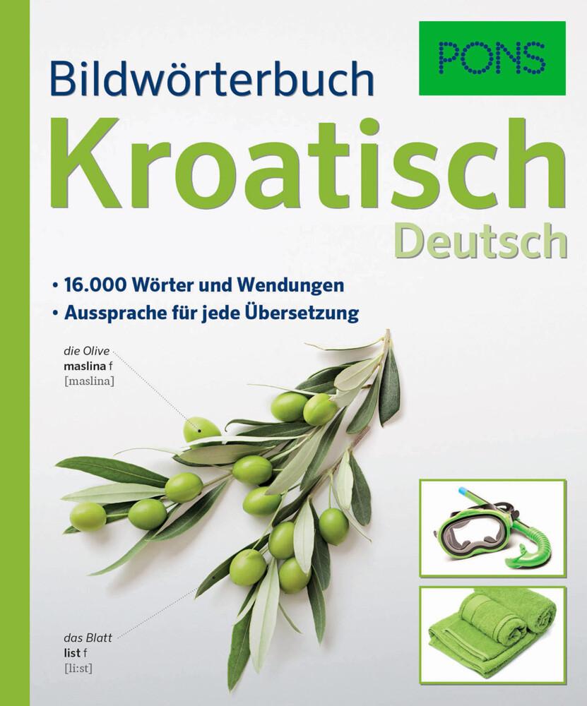 PONS Bildwörterbuch Kroatisch als Buch (kartoniert)