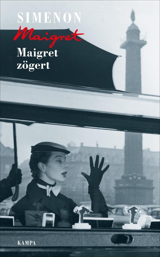 Maigret zögert als Buch (gebunden)