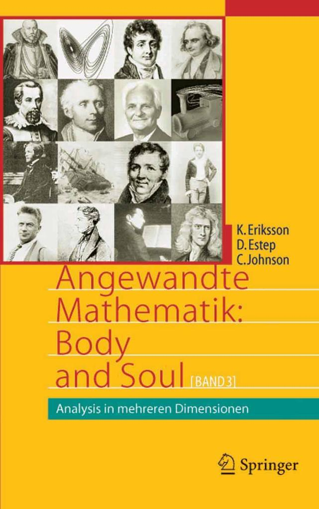 Angewandte Mathematik: Body and Soul als eBook pdf