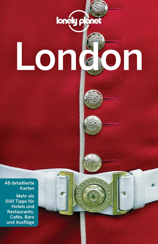 Lonely Planet Reiseführer London als eBook epub
