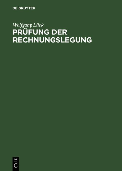 Prüfung der Rechnungslegung als eBook pdf