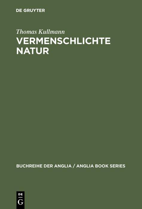 Vermenschlichte Natur als eBook pdf