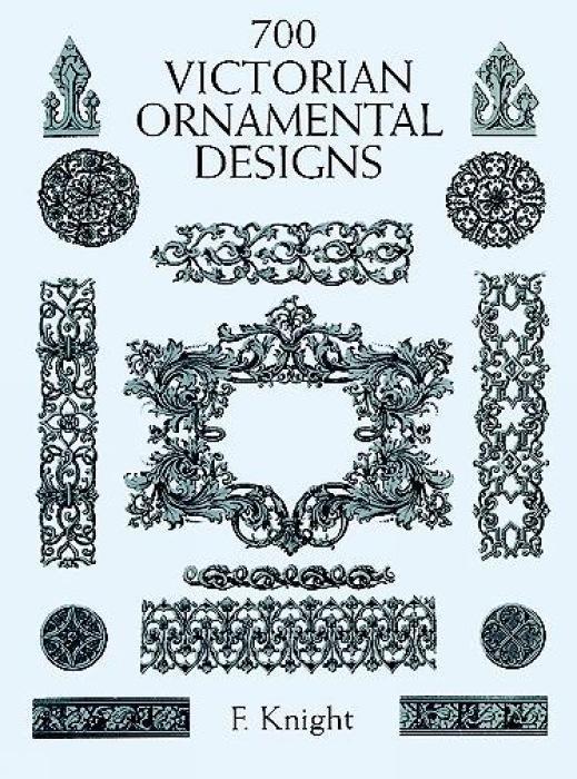 700 Victorian Ornamental Designs als Taschenbuch