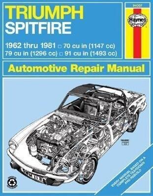 Triumph Spitfire, 1962-1981 als Taschenbuch
