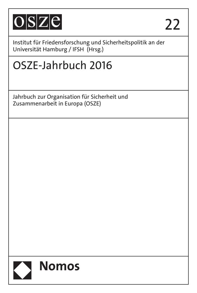 OSZE-Jahrbuch 2016 als eBook pdf