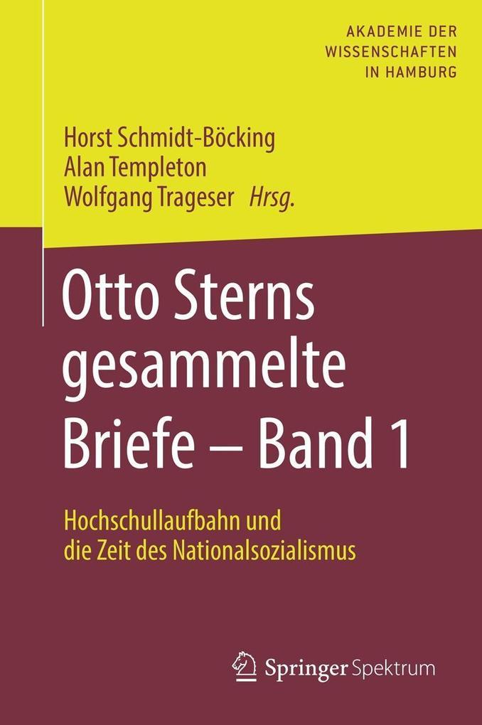 Otto Sterns gesammelte Briefe - Band 1 als eBook pdf