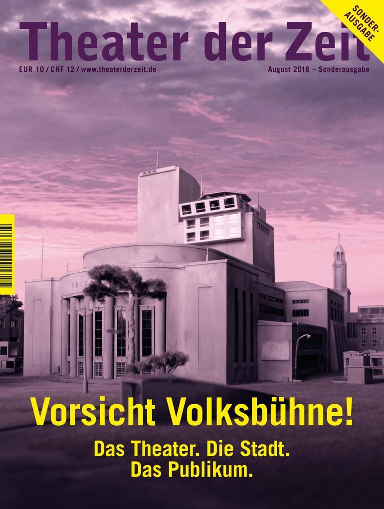 Vorsicht Volksbühne! als Buch (kartoniert)