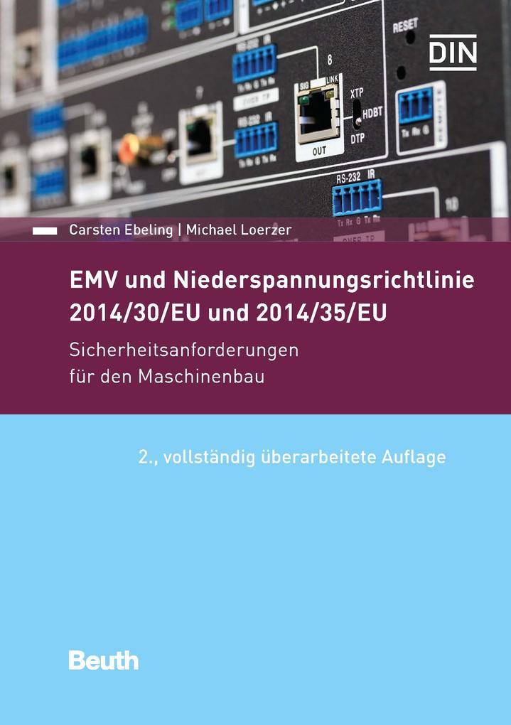 EMV und Niederspannungsrichtlinie 2014/30/EU und 2014/35/EU als eBook pdf