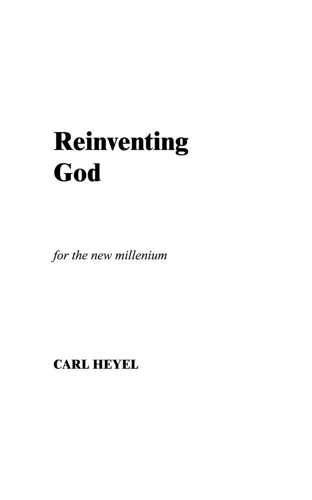 Reinventing God als Taschenbuch