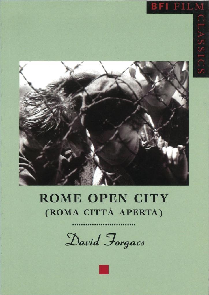 Rome Open City als Taschenbuch