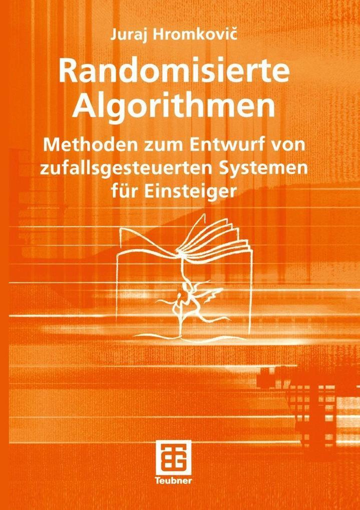 Randomisierte Algorithmen als eBook pdf