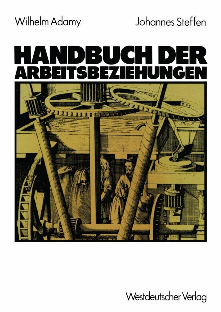 Handbuch der Arbeitsbeziehungen als eBook pdf