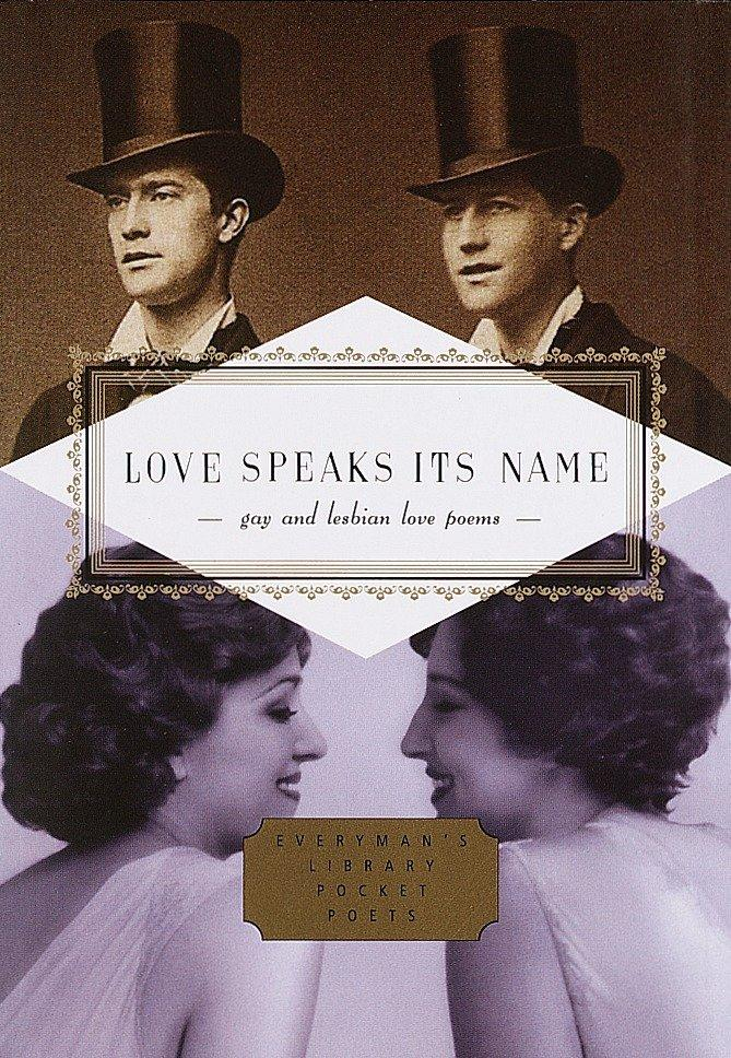 Love Speaks Its Name: Gay and Lesbian Love Poems als Buch (gebunden)