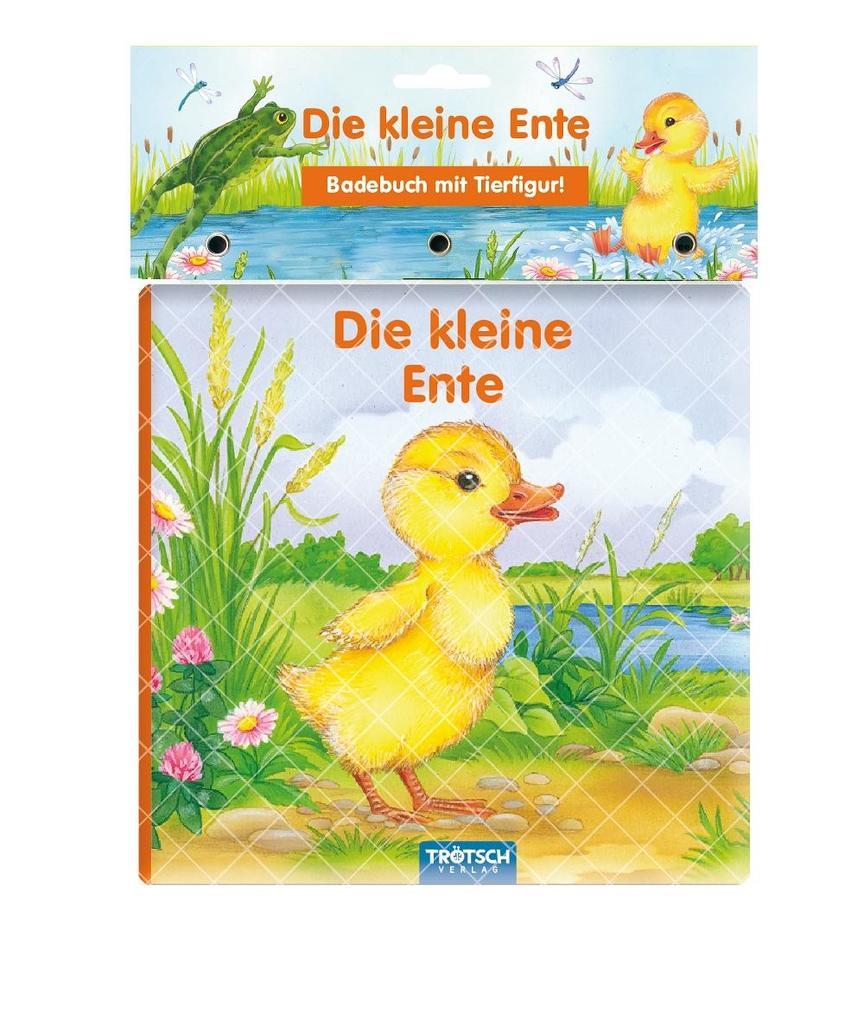 Trötsch Die kleine Ente Badebuch als Buch (gebunden)