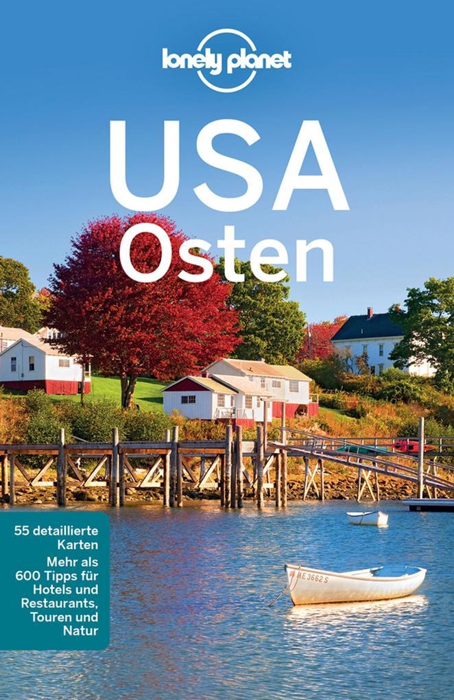 Lonely Planet Reiseführer USA Osten als eBook