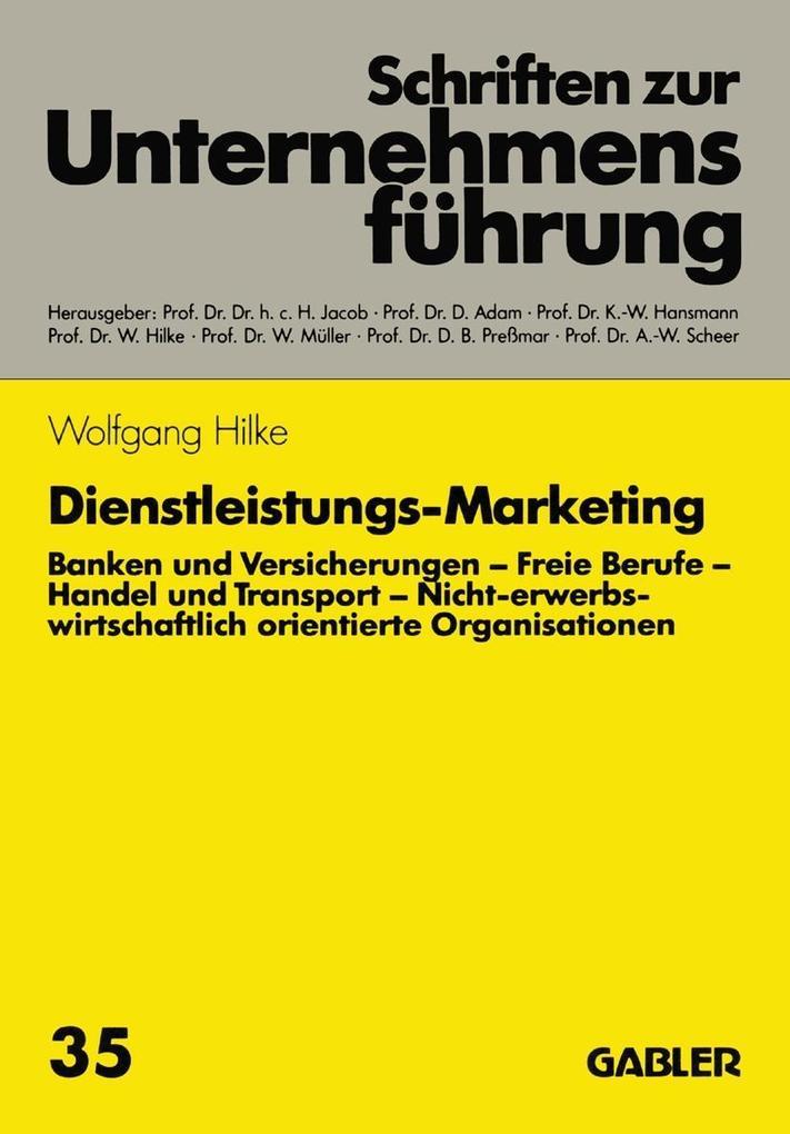 Dienstleistungs-Marketing als eBook pdf
