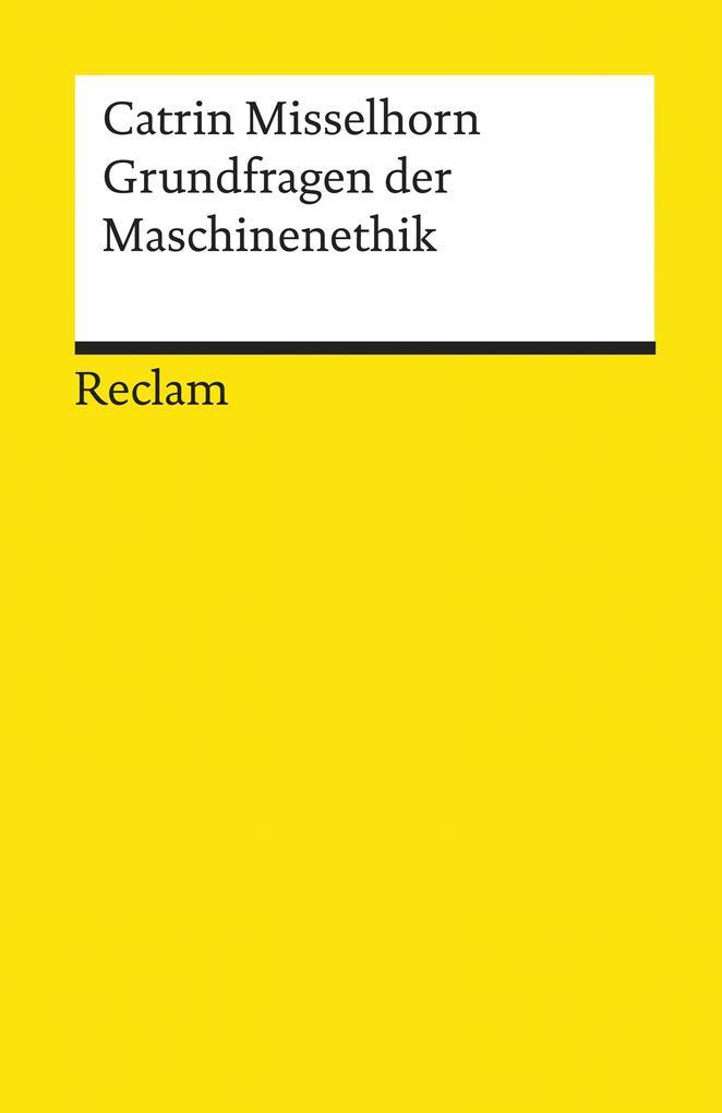 Grundfragen der Maschinenethik als eBook epub