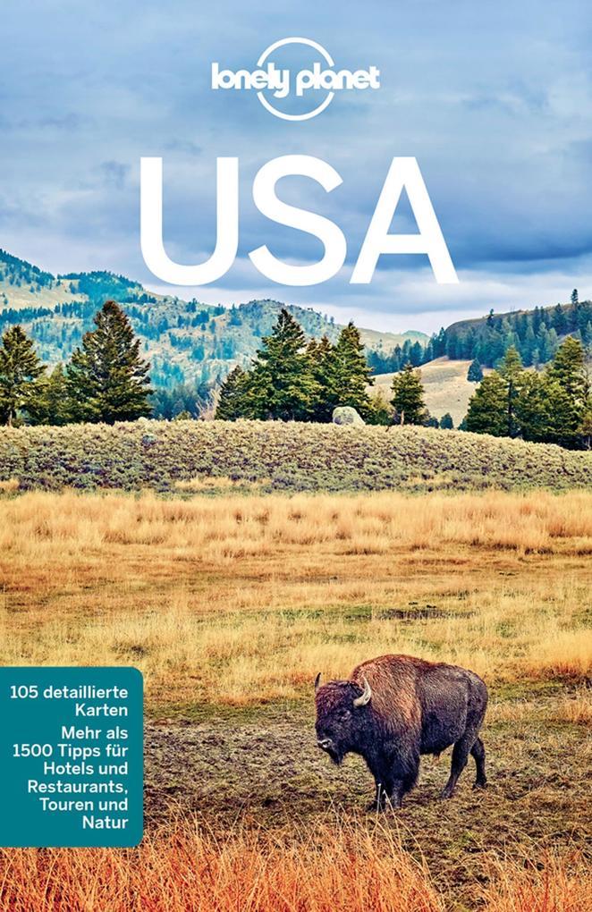 Lonely Planet Reiseführer USA als eBook