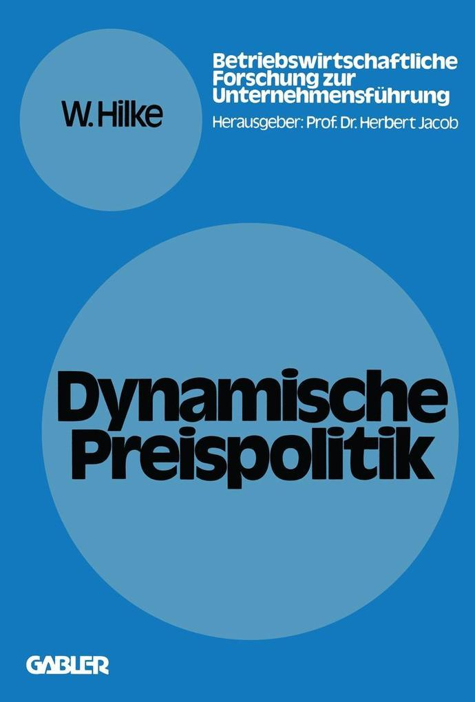 Dynamische Preispolitik als eBook pdf