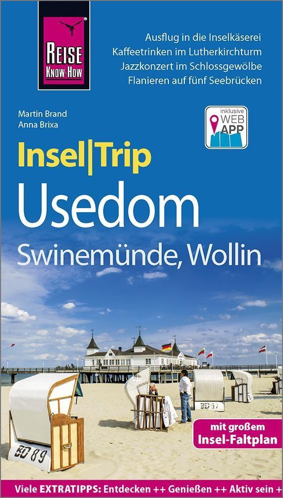 Reise Know-How InselTrip Usedom mit Swinemünde und Wollin als Buch