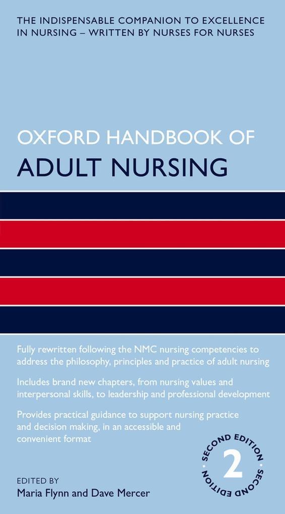 Oxford Handbook of Adult Nursing als eBook epub