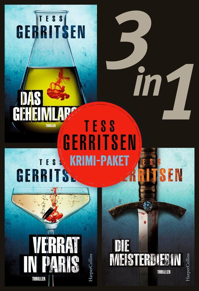 Tess Gerritsen - Krimi-Paket (3in1) als eBook