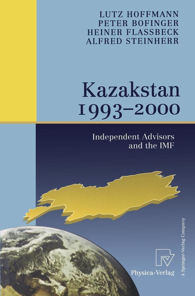 Kazakstan 1993 - 2000 als eBook pdf
