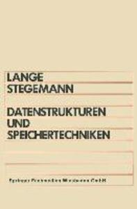 Datenstrukturen und Speichertechniken als eBook pdf