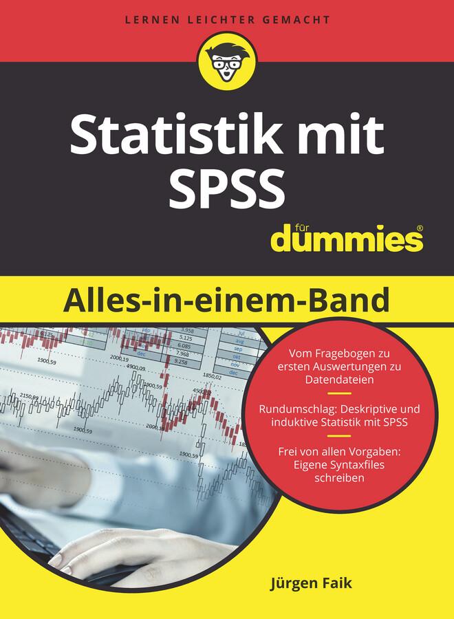 Statistik mit SPSS Alles in einem Band für Dummies als eBook epub