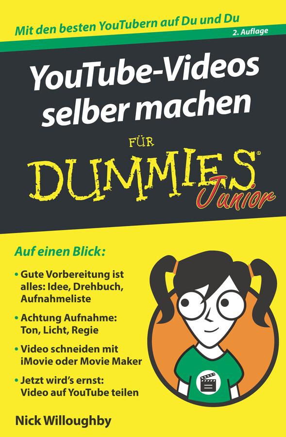 YouTube-Videos selber machen für Dummies Junior als eBook epub
