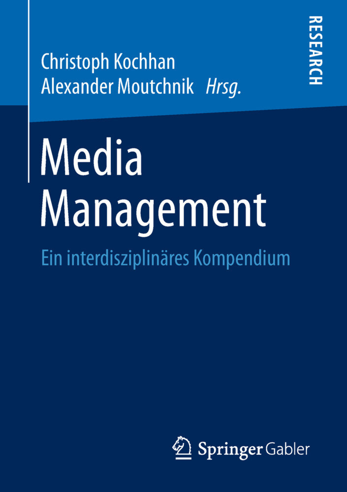 Media Management als Buch (kartoniert)