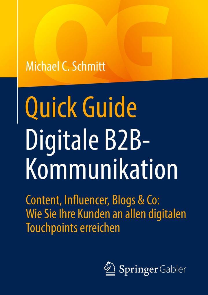 Quick Guide Digitale B2B-Kommunikation als Buch