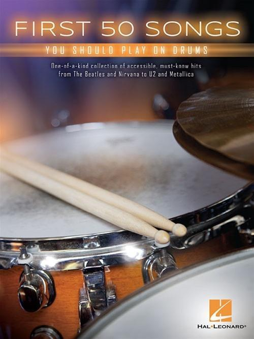 First 50 Songs You Should Play On Drums als Taschenbuch
