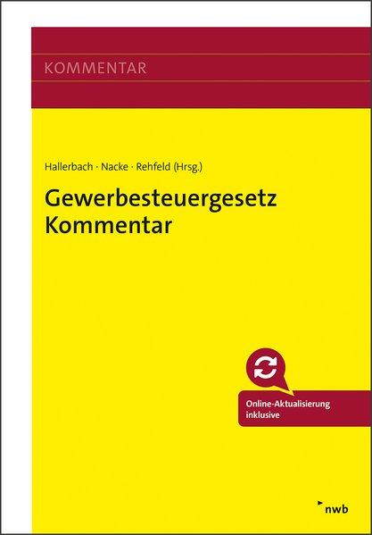Gewerbesteuergesetz Kommentar als Buch