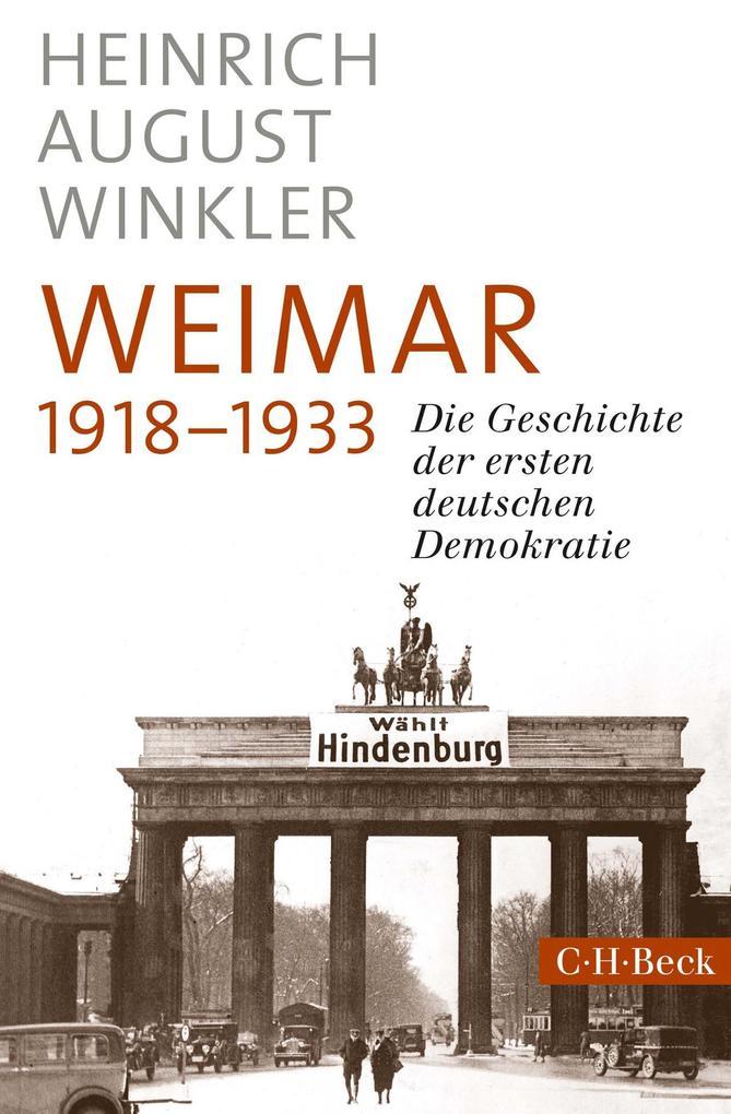 Weimar 1918-1933 als eBook epub