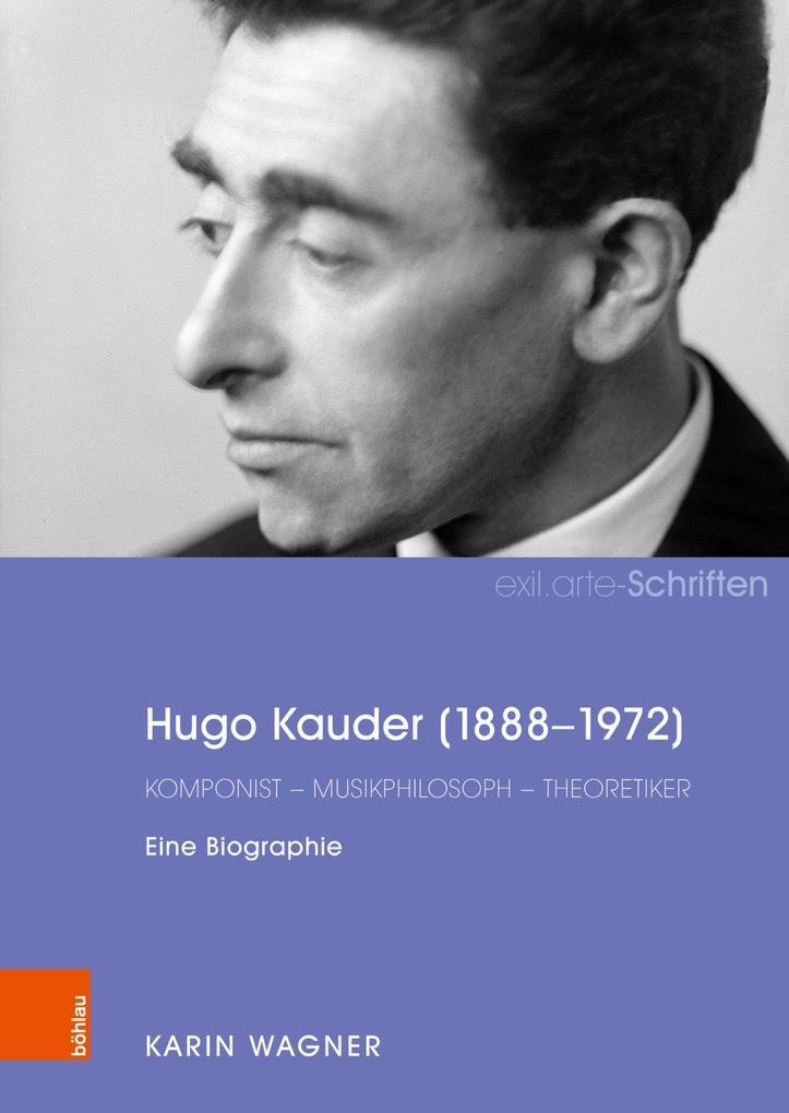 Hugo Kauder (1888-1972) als eBook pdf