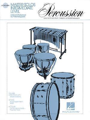 Master Solos - Percussion - Intermediate Level [With CD Audio] als Taschenbuch