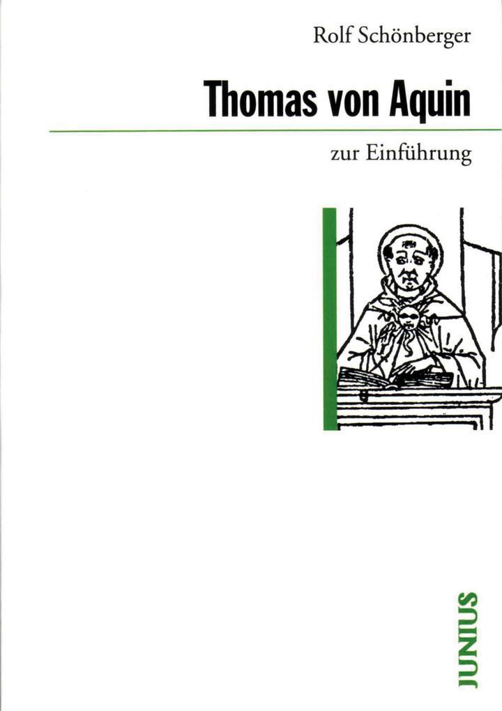 Thomas von Aquin zur Einführung als eBook epub