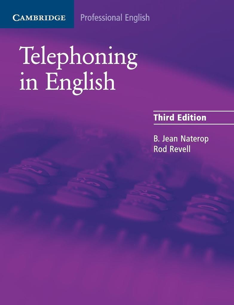 Telephoning in English als Taschenbuch