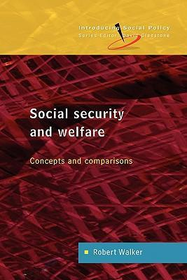 Social Security and Welfare: Concepts and Comparisons als Buch (kartoniert)