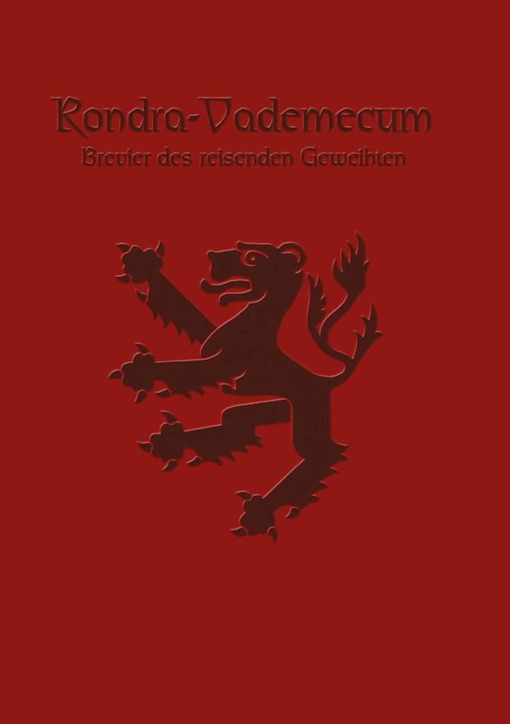 Rondra Vademecum als Buch (kartoniert)