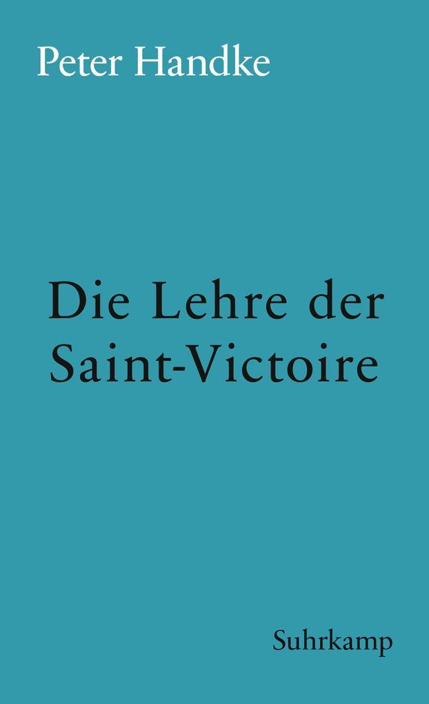 Die Lehre der Sainte-Victoire als eBook epub